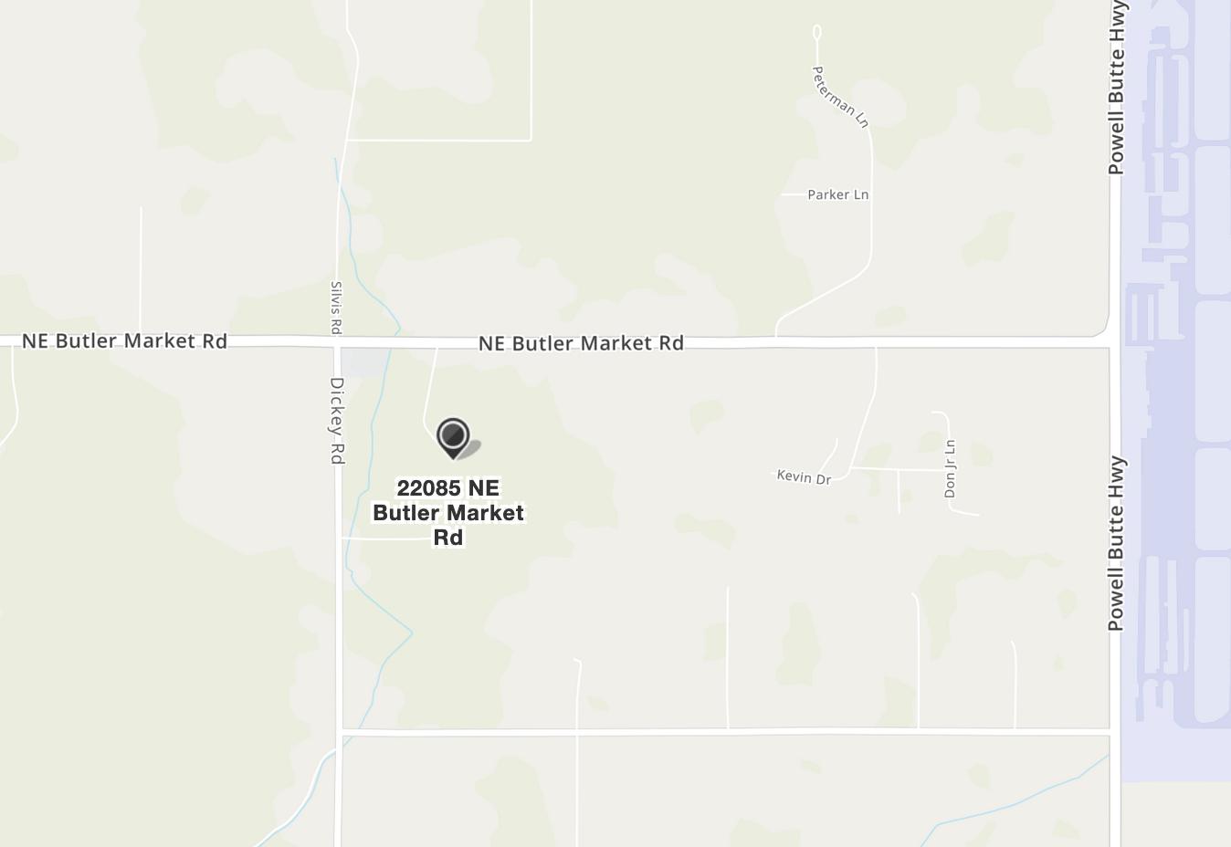 Map to Phoenix Farm